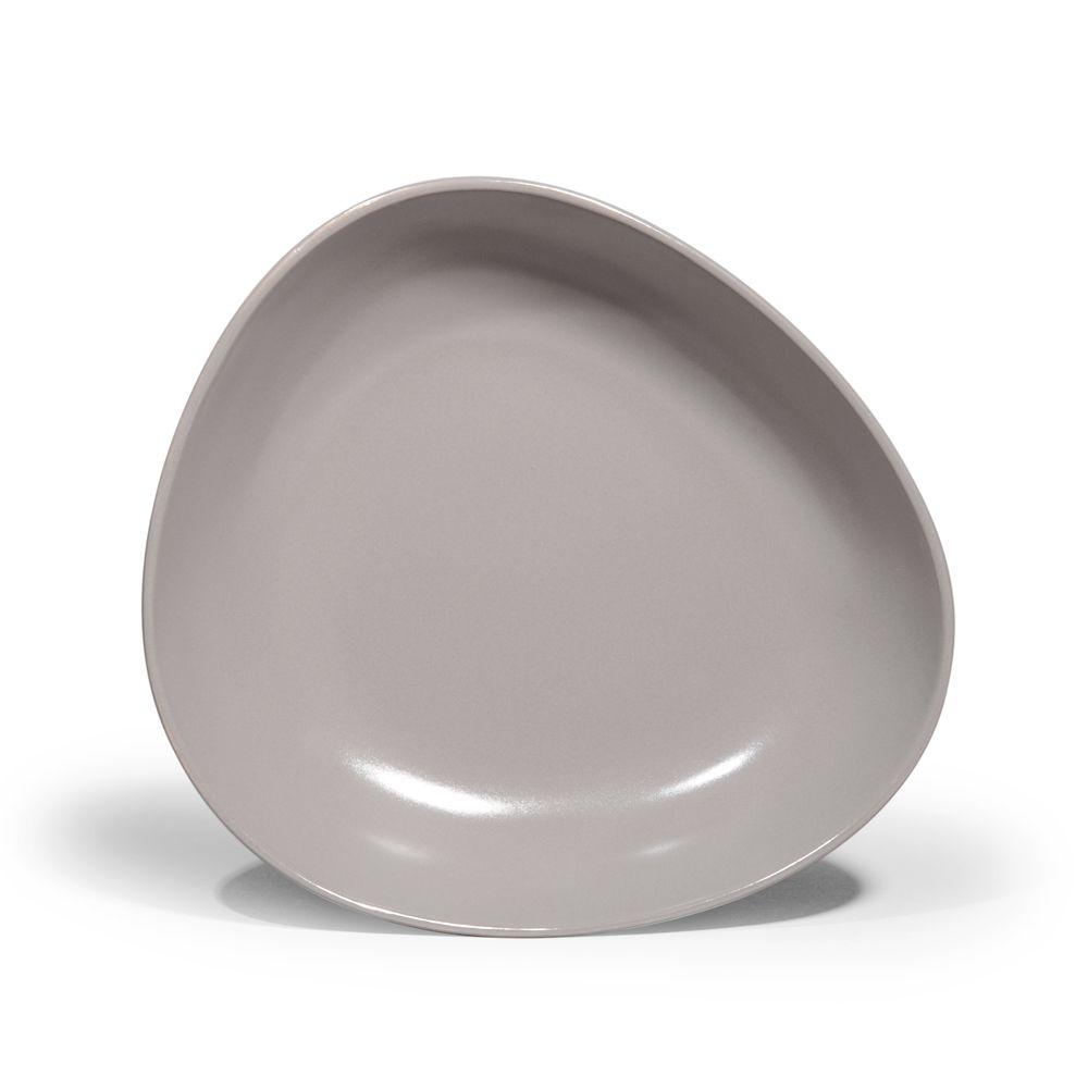 Assiette Creuse Galet Grise Kitchen Gear Tableware Plates