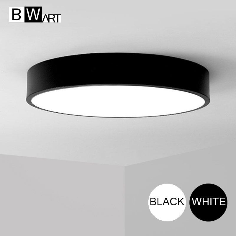 Check Discount Bwart Modern Led Ceiling Light Round Simple