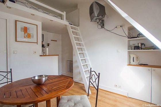 Cama suspensa, quarto suspenso , mezanino ou cama loft?  60 s