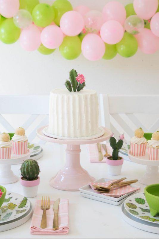 fiesta temtica para nios de cactus ideas para decorar un cumpleaos fiestas y cumples - Fiestas Y Cumples