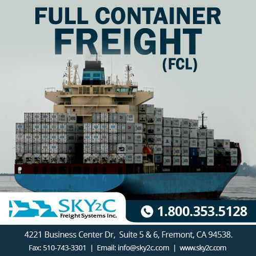 Sky2c provides the best cheap container shipping services