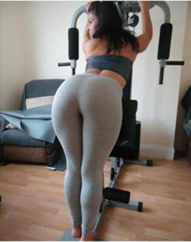 Beautiful asses in yoga pants