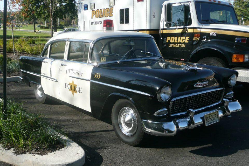 55 Chevy Police Car Https Mrimpalasautoparts Com Police Cars