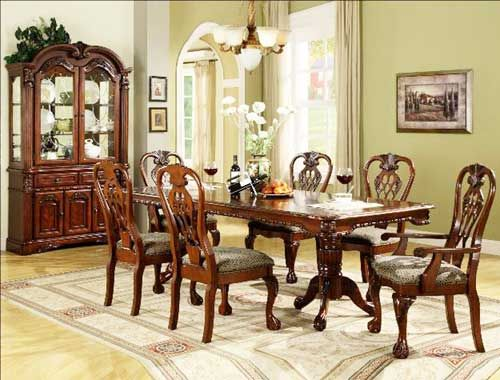 2470 Brussels Formal Dining Room Set  Puritan Furniture Ct's Cool Dining Room Sets In Ct Design Ideas