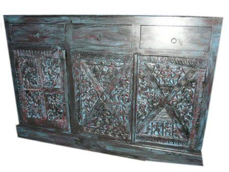 Antique Console Sideboard Tribal India Blue Patina Carved Chest Mogul Interior http://www.amazon.com/dp/B00BWK6Q2I/ref=cm_sw_r_pi_dp_vSFUtb11B7VE8ET7