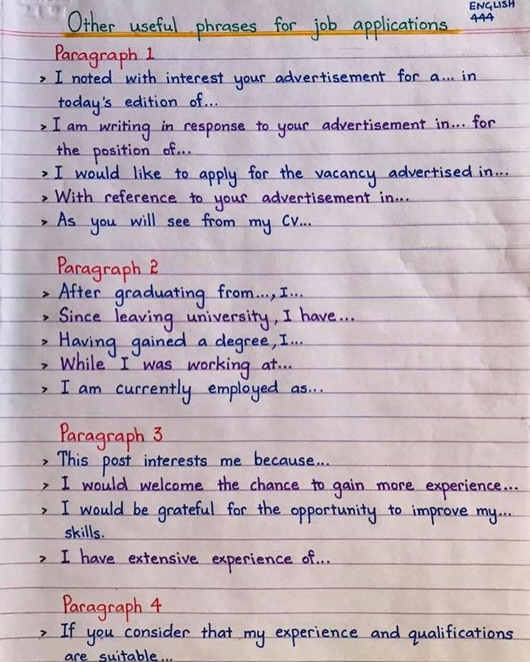 Edu Post On Twitter Writing Response English Writing Skills Writing A Cover Letter