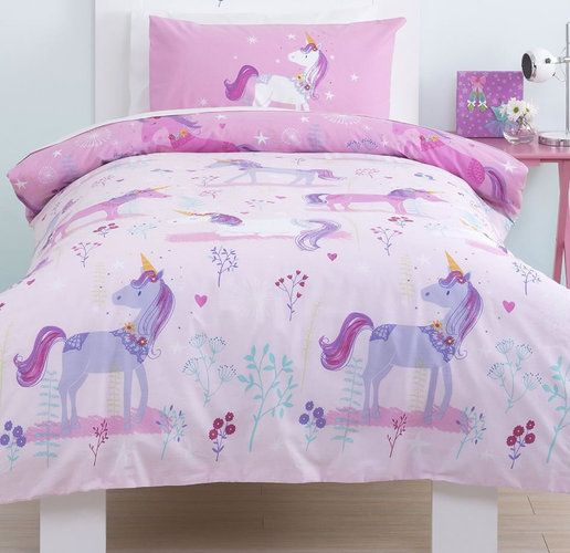 Magical Unicorn, Girls Single Bedding Set From Just