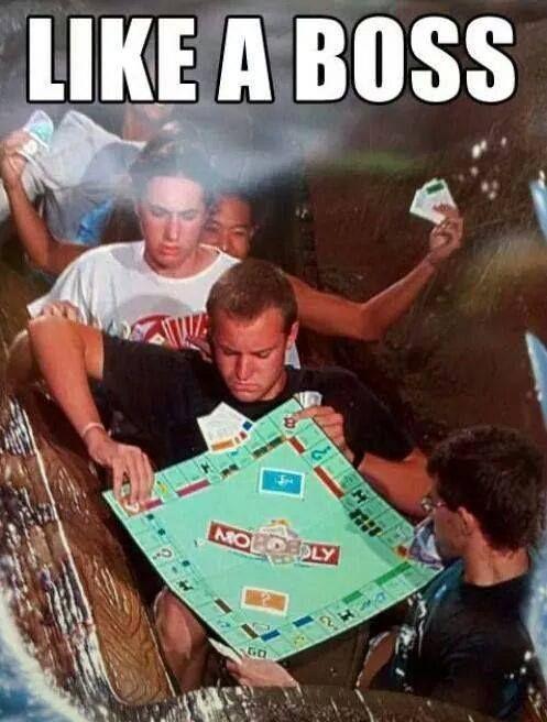 Monopoly Like a Boss #Boss, #Funny, #Monopoly
