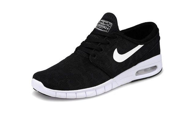 Nike SB Stefan Janoski Max Black White Women's Shoes