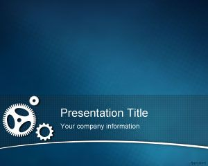 Kaizen Free PowerPoint template background  for lean startup and total quality management PowerPoint presentations