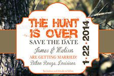 RealTree Camo Wedding Invitation 5x7 Camo Wedding The Hunt Is Over