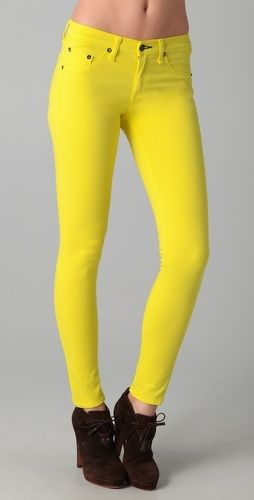 0cd23a8525339c Rag & Bone/JEAN The Legging Jeans - StyleSays | Our wants | Yellow ...