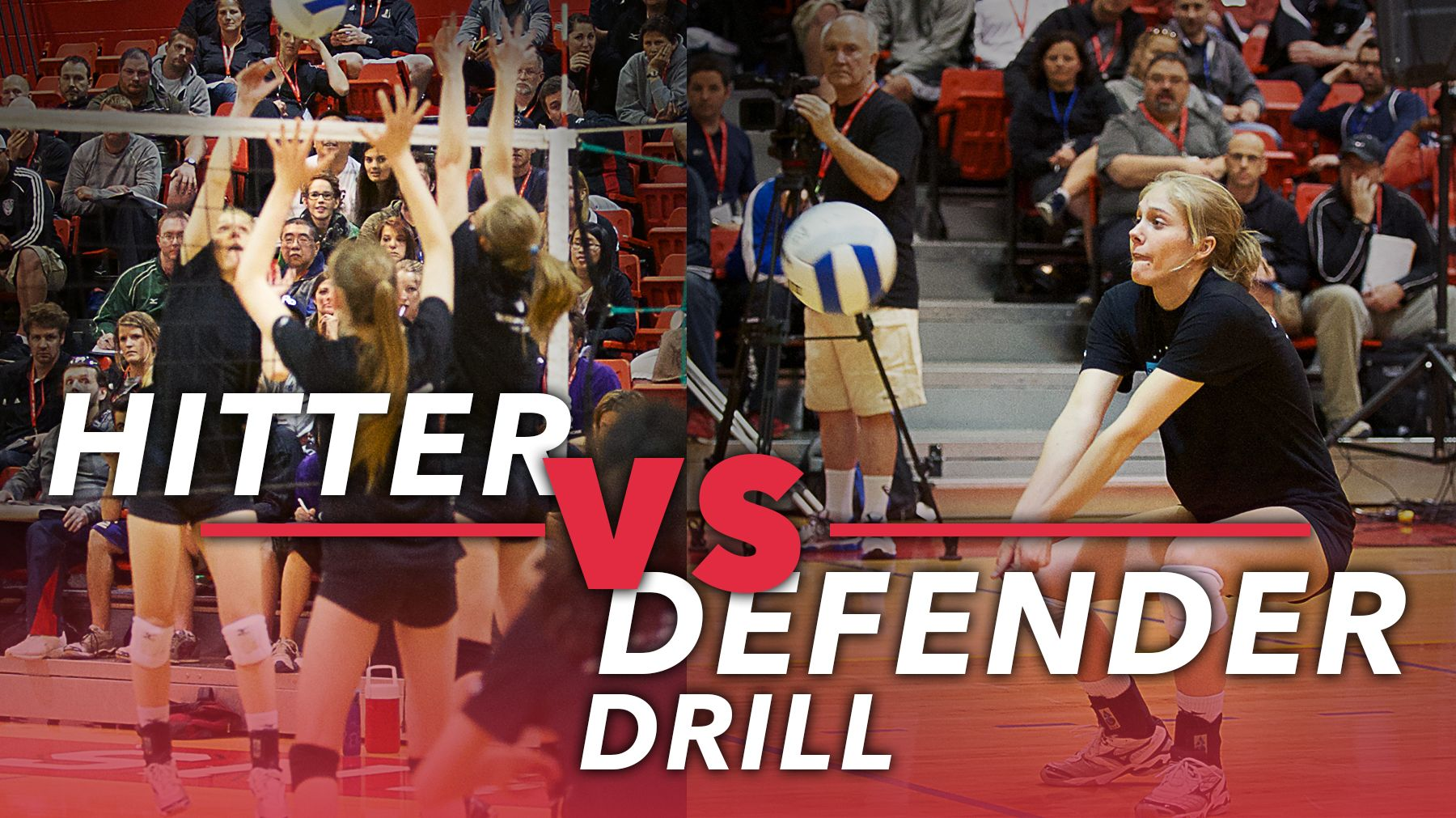 Hitter Vs Defender Drill With Nabil Mardini The Art Of Coaching Volleyball Coaching Volleyball Volleyball Workouts Volleyball Training