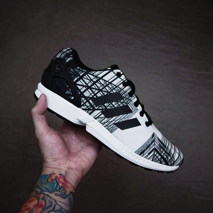 Adidas Zx Flux Descuento gradient