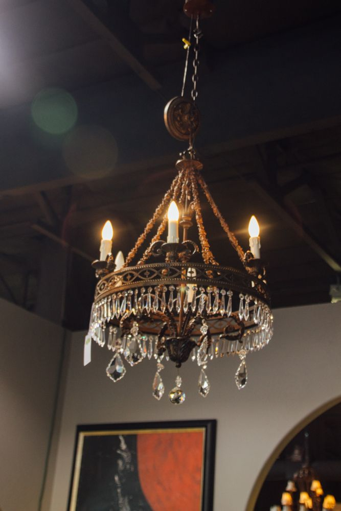 Medieval meets modern with this eclectic lighting. Chandelier ...