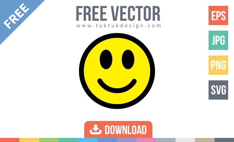 Smiley Happy Face Emoticon Vector Smiley Happy Happy Emoticon