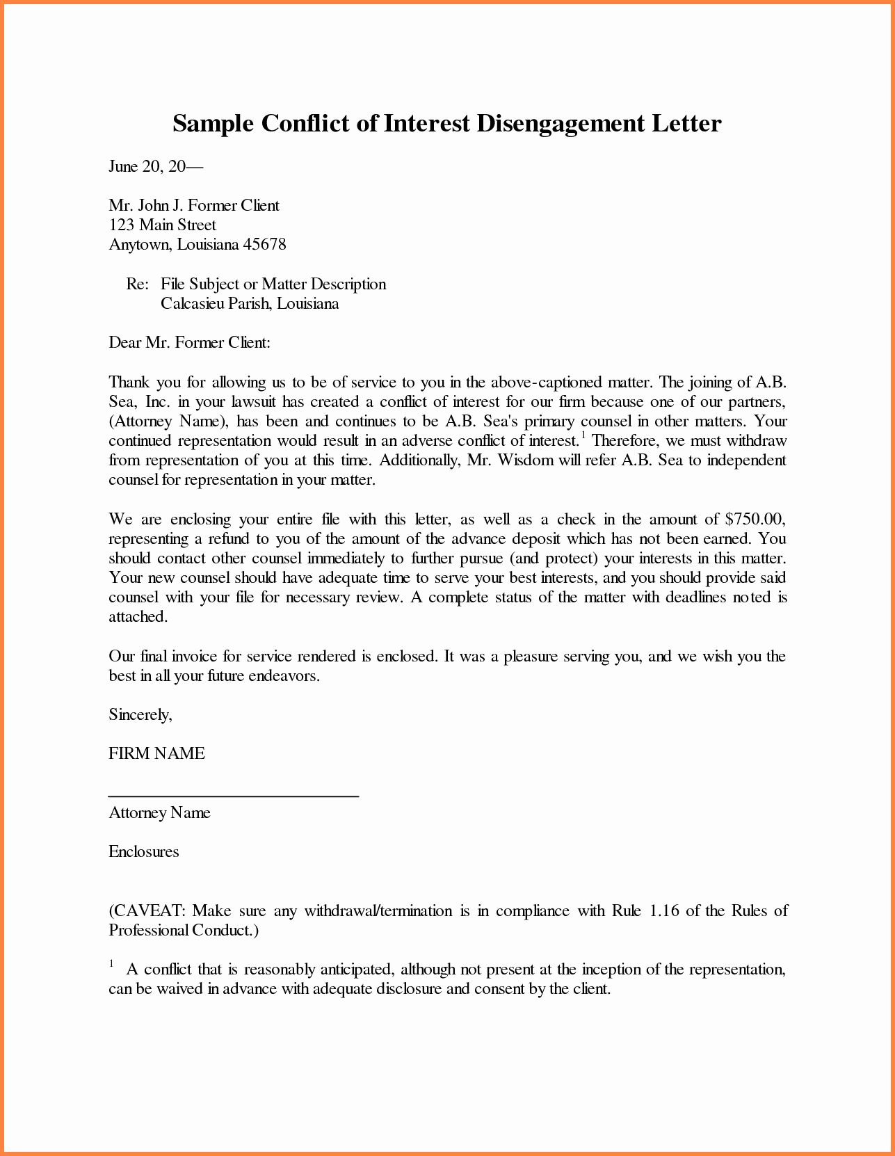 Sample Letter Dismiss Attorney from i.pinimg.com