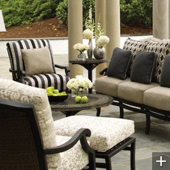 Plaza Outdoor Deep-seating Furniture Collection | Grandin Road