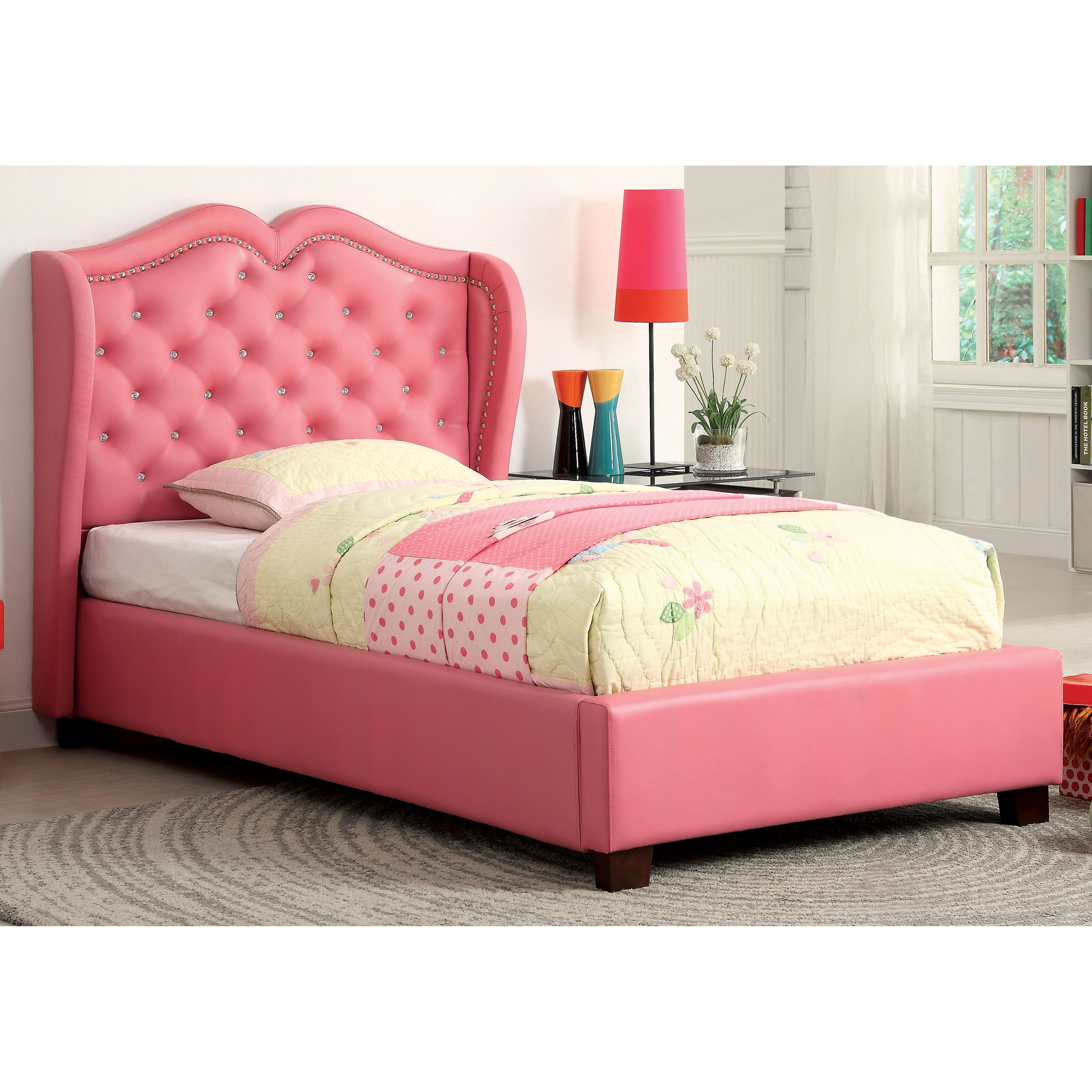 Home Girls Bedroom Furniture Girls Twin Bed Twin Princess Bed