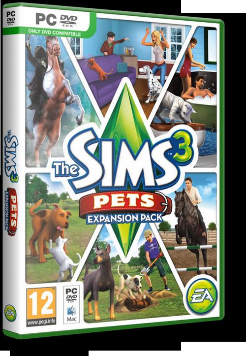 Скачать бесплатно sims 3 питомцы (pets), дополнение.