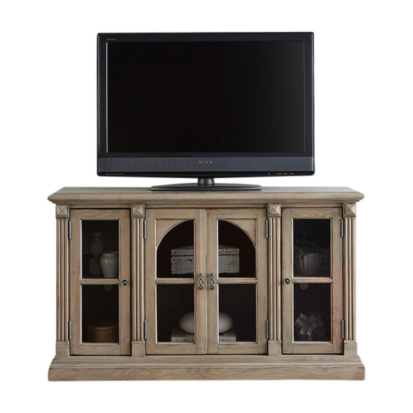 Progressive Furniture Townsend 4 Door Tv Console Progressive