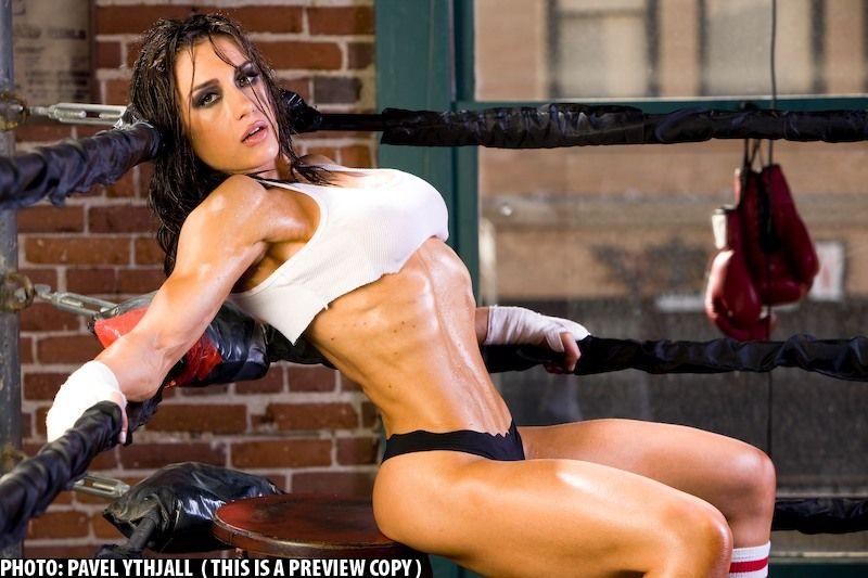 Pauline nordin fitness model female