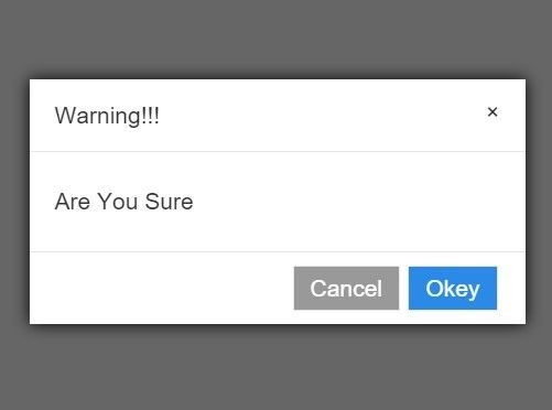 Minimal Alert / Confirm Dialog Plugin with jQuery and