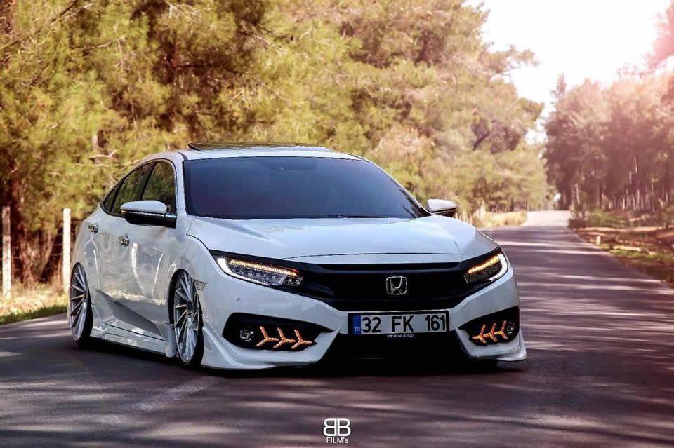 2018 Honda Civic Modifiye Honda Civic Hatchback Honda Civic Honda Civic Si