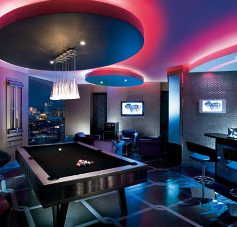 LA Getaways Palms Place Fantasy Suites Men cave, Game rooms and - hotel appartements luxuriose einrichtung hard rock hotel las vegas