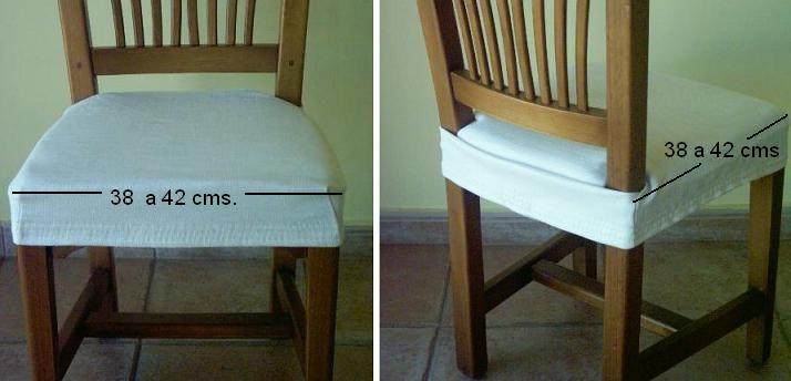 FUNDA SILLA BASE ASIENTO ELASTICA | Furniture | Almohadones para ...