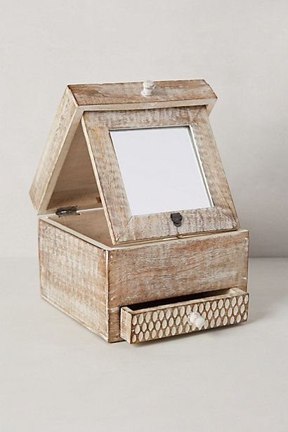 FOLDING MIRROR JEWELRY BOX #anthrofave