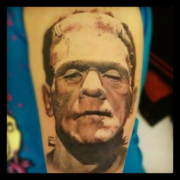 Mr Frankenstien tattoo