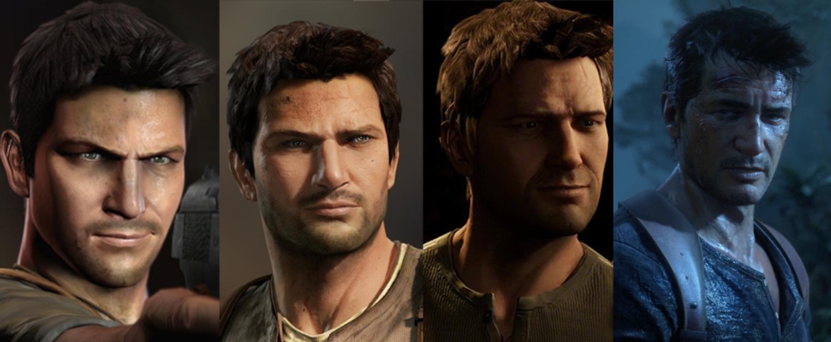 Nathan Drake Through The Uncharted Series Uncharted Uncharted Series Uncharted Drake