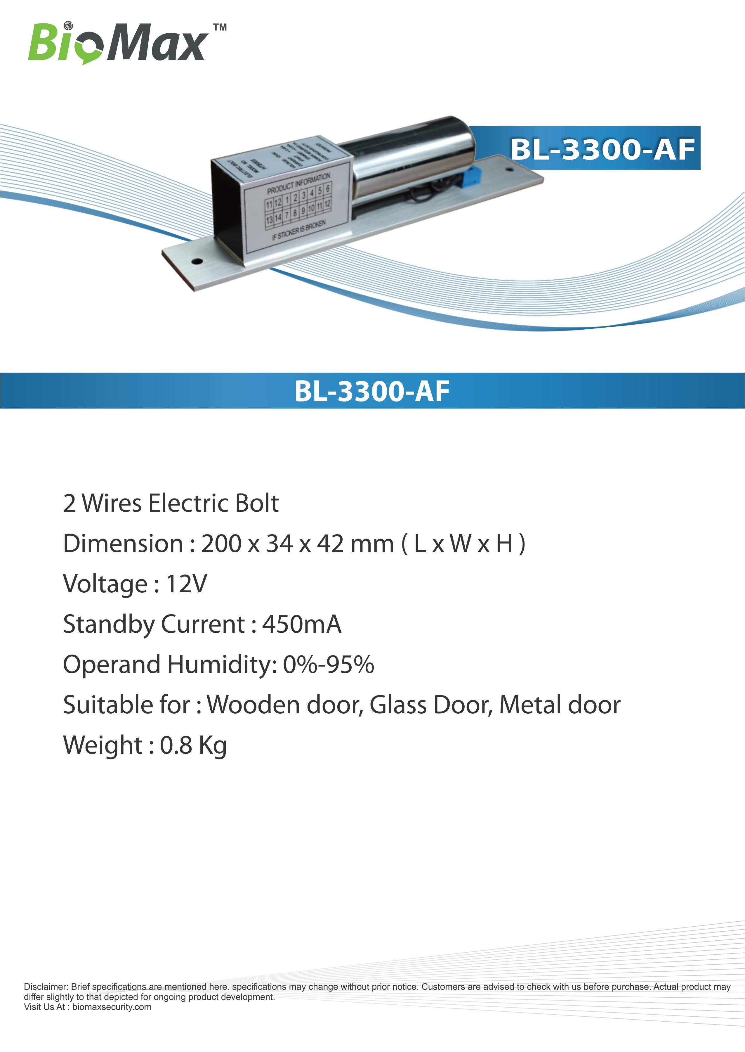 biomax bolt lock biomax maximum biometrics maximum security