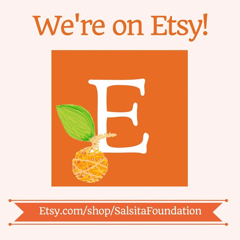 It's official, our #Etsy shop is open!!  Come browse our products, which all go towards our mission of bringing #art and #creativity and safe spaces to #children in our #community.   #nonprofit #salsita #shoplocal #giveback #givingtuesday   http://etsy.me/1mpv6Qr