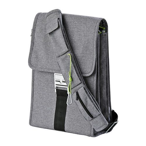 IKEA - UPPTÄCKA, Laptop backpack, Attach the strap in different ...