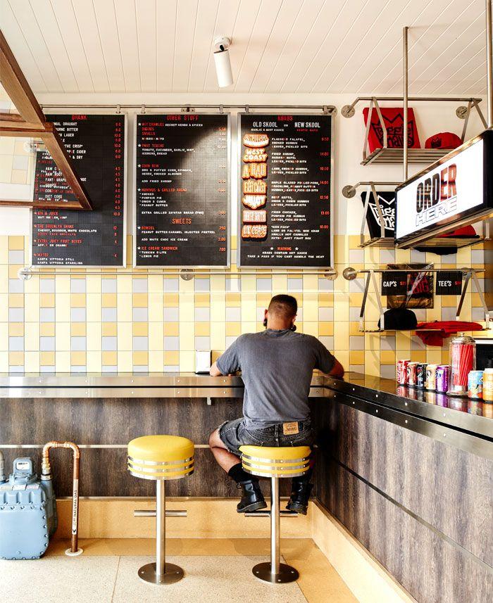 Idées de décoration Diner Américain Vintage | Diners, Diner ideas ...
