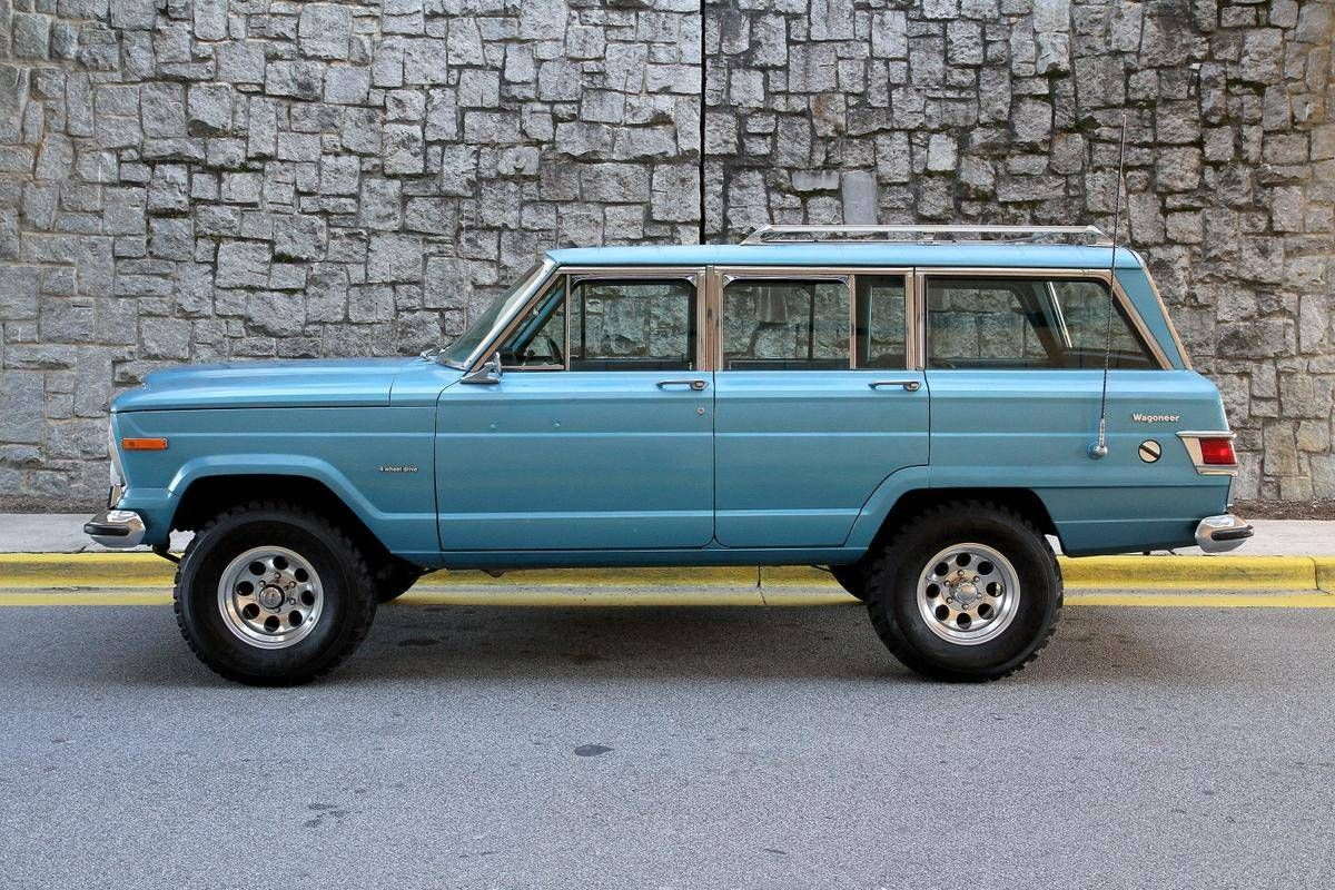 Hemmingsmotornews Lifted Driver Quality 1975 Jeep Wagoneer For