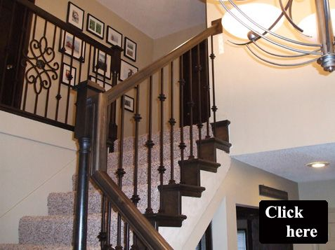 Wonderful KC Wood Furnishes U0026 Installs Iron Spindles For Your Staircase. We Furnish A  Full Line Of Services U2013 From Replacing Wood Spindles With Iron Balusters.