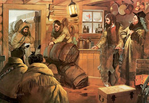 Picture Hudson Bay Company Trading Post United States
