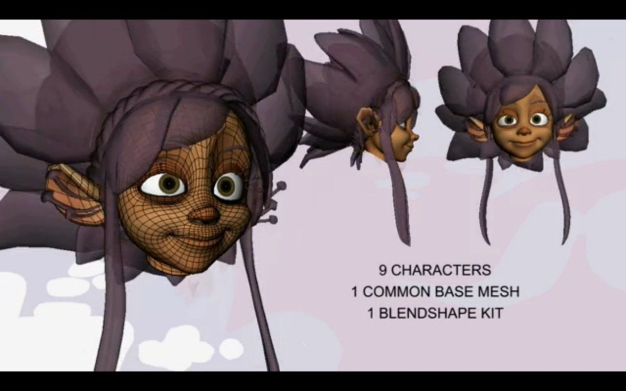 common base mesh