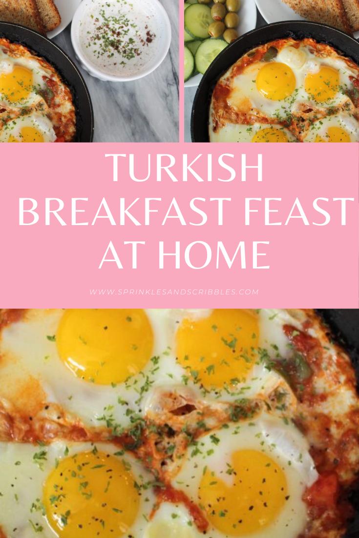 Turkish breakfast feast - menemen Recipe