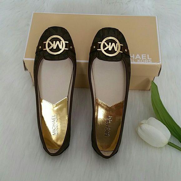 SALE Michael Kors Flat Shoes. New never