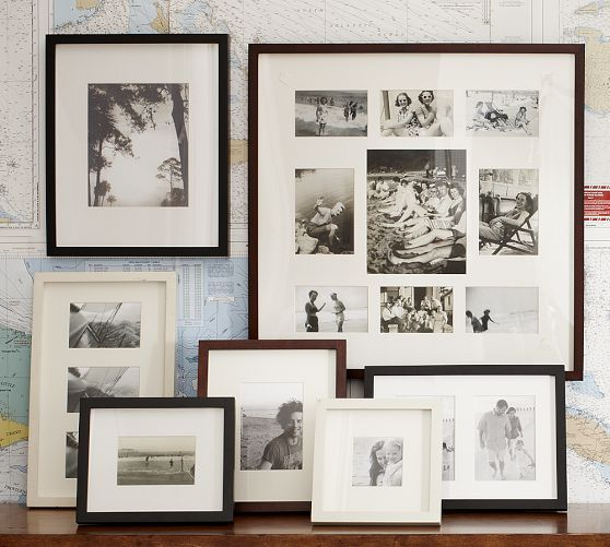 Wood Gallery Multiple Opening Frames | Photography | Pinterest ...