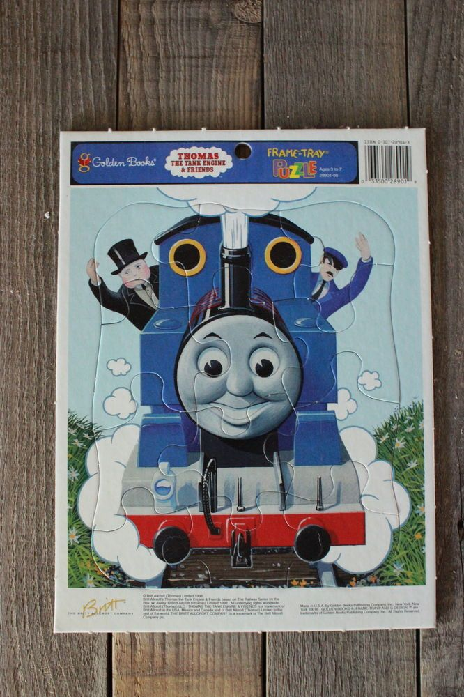 Thomas The Tank Engine And Friends Frame Tray Puzzle