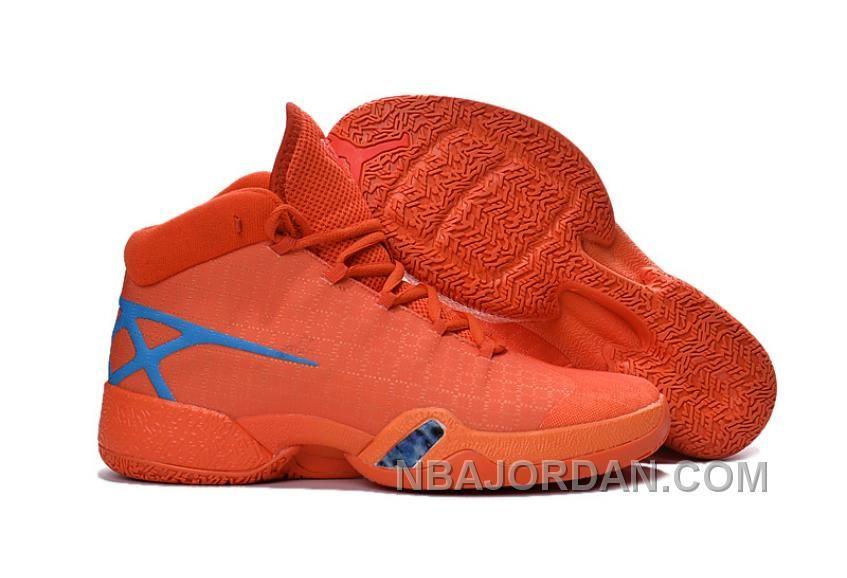 http://www.nbajordan.com/new-air-jordan-30-xxx-playoffs-orange-blue-pe-lastest.html NEW AIR JORDAN 30 XXX PLAYOFFS ORANGE BLUE PE LASTEST Only $109.00 , Free Shipping!