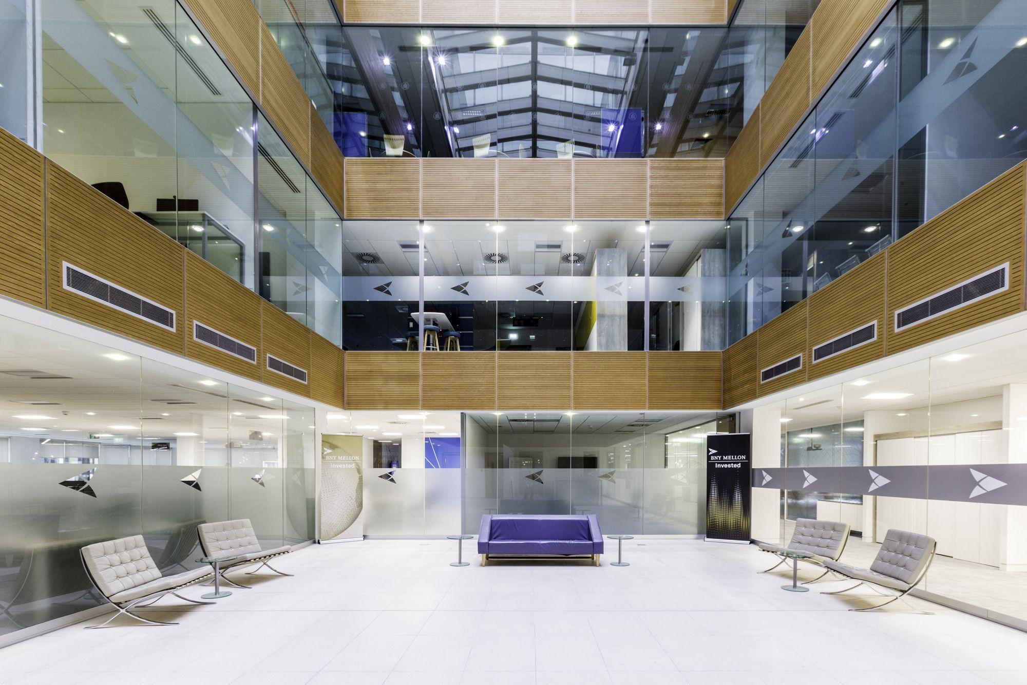 Bank Of New York Mellon Offices Manchester Office Snapshots Modular Lounges Office Interiors Design