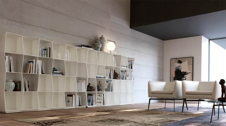 Alivar Mobili ~ Libreria modulare wavy alivar mobili armchairs
