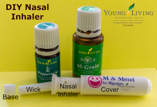 Diy Young Living Essential Oils Nasal Inhaler Life With