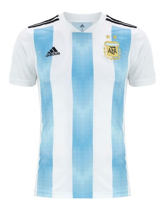 f0dfa92b6 ARGENTINA New ADIDAS ADULT Football Soccer WC18 HOME JERSEY Shirt BNWT  Argentina World Cup 2018